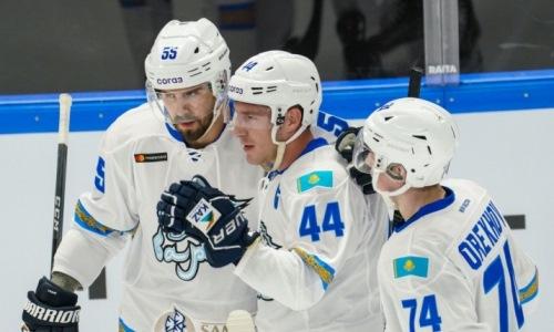 «Барыс» назвал состав на первый матч плей-офф КХЛ с «Металлургом»