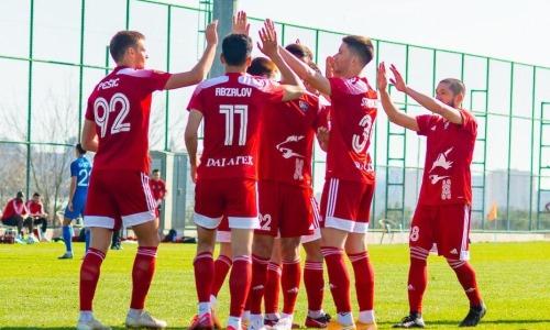 «Кайсар» завершил УТС уверенной победой над российским клубом
