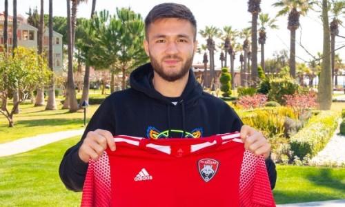 Клуб КПЛ объявил о подписании кандидата в сборную Казахстана