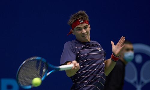 Казахстанский теннисист не сумел пробиться в третий раунд турнира Challenger 125 в Нур-Султане