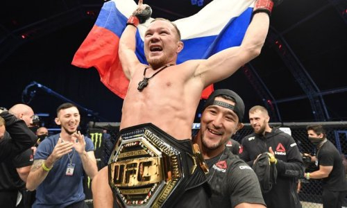 Где смотреть трансляцию боя Петр Ян — Алджамейн Стерлинг за титул чемпиона UFC