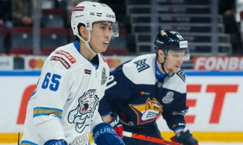 «Барысу» предрекают поражение во втором матче плей-офф КХЛ