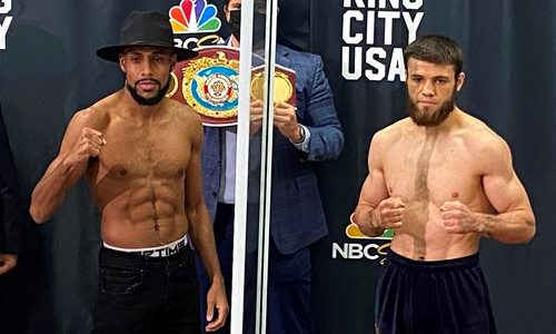 Казахстанский боксер из Golden Boy сделал заявление перед титульным боем с непобежденным «Зорро»