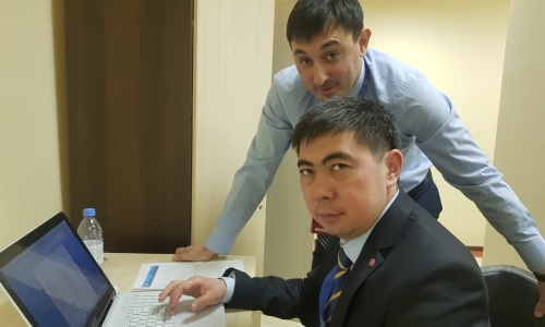 Казахстанские арбитры отработали в отборочном матче ЕВРО-2022