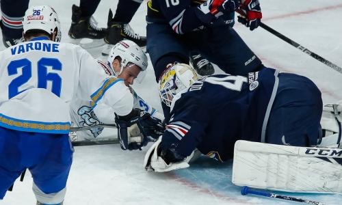 Прямая трансляция третьего матча плей-офф КХЛ «Барыс» — «Металлург»