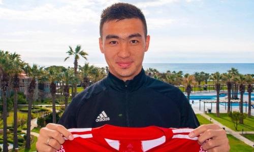 Клуб КПЛ официально объявил о продлении контракта с Алтынбековым