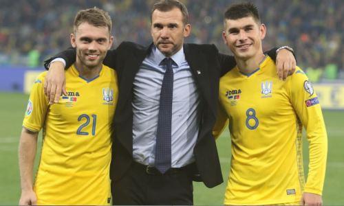 Шевченко назвал список сборной Украины на отбор ЧМ-2022 перед мартовским матчем с Казахстаном