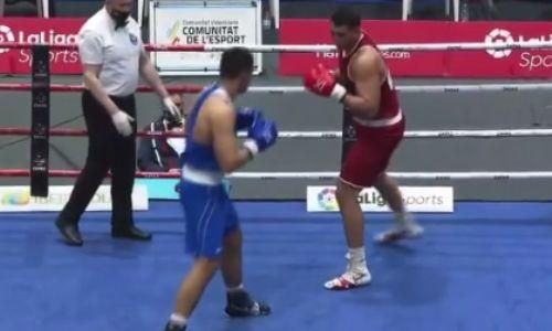 Без Кункабаева не то? Казахстанский супертяж остался с «бронзой» на турнире в Испании. Видео