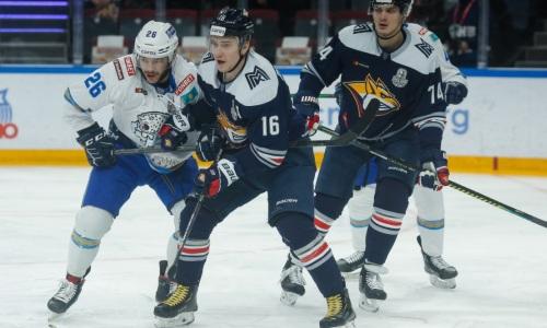 Назван фаворит третьего матча «Барыс» — «Металлург» в плей-офф КХЛ