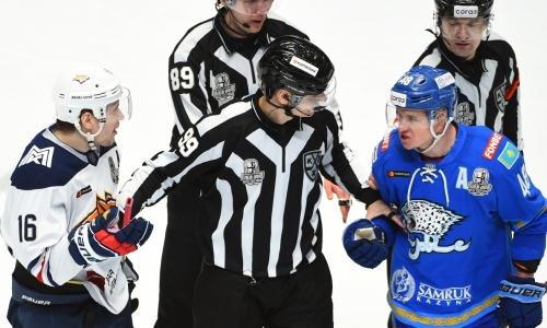 Прямая трансляция четвертого матча «Барыс» — «Металлург» в плей-офф КХЛ