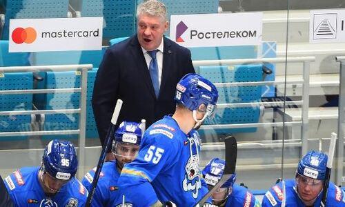 «Мы здорово выглядели». Юрий Михайлис прокомментировал тяжелую победу «Барыса» над «Металлургом»