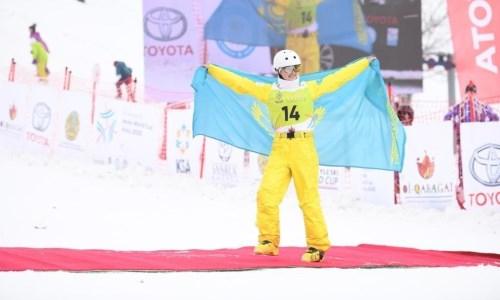 Алдабергенова стала бронзовым призером этапа Кубка мира по фристайл-акробатике