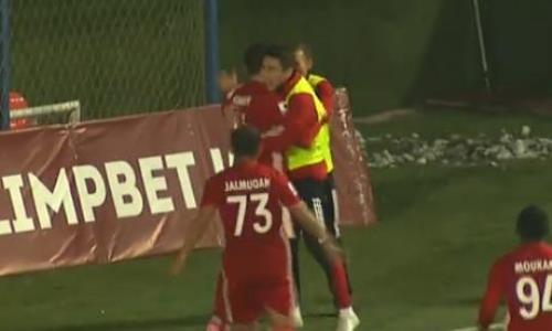 Видео гола Сергеева матча Премьер-Лиги «Актобе» — «Тобол»