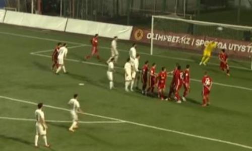Видео гола Валиуллина матча Премьер-Лиги «Актобе» — «Тобол»