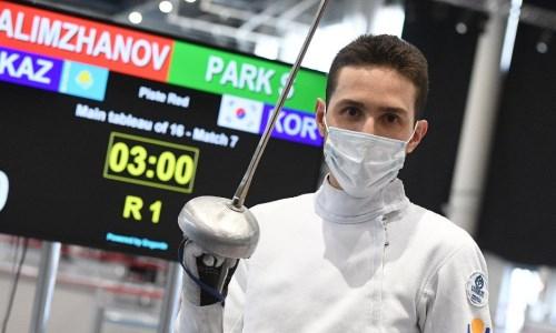 Казахстанский спортсмен стал призером этапа Кубка мира по фехтованию на шпаге