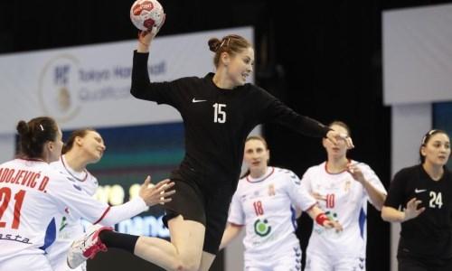 Женская сборная Казахстана провела заключительный матч в рамках отбора на Олимпиаду