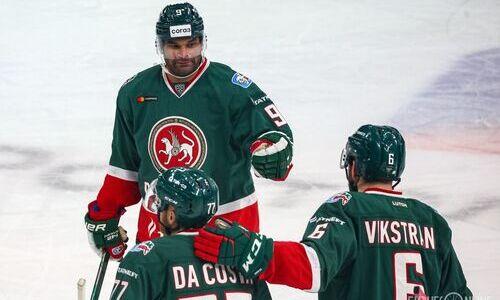 Нападающий сборной Казахстана может стать финалистом плей-офф Восточной конференции КХЛ