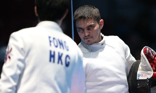 Казахстанский шпажист завоевал лицензию на Олимпийские игры в Токио