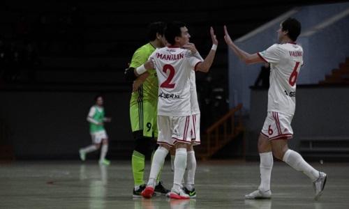 «Актобе» обыграл «Каспий» в матче плей-офф чемпионата Казахстана
