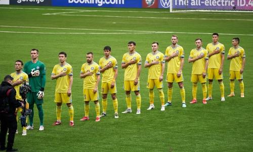 Каково положение сборной Казахстана в группе отбора на ЧМ-2022 после поражения Франции