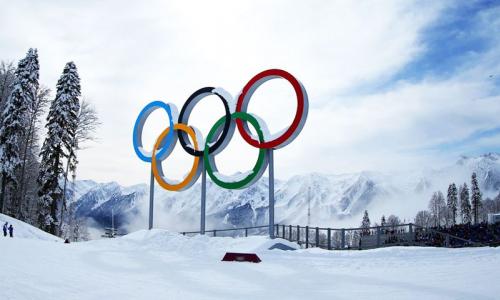 Представлена эмблема зимней Олимпиады с участием казахстанских спортсменов