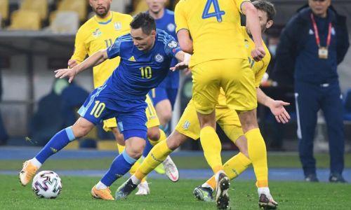 Есть очко. Каково положение сборной Казахстана в группе отбора ЧМ-2022 после ничьей с Украиной
