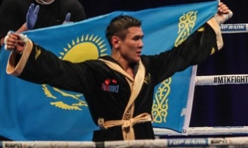 Турсынбай Кулахмет в первом раунде нокаутировал непобежденного соперника с 20 победами