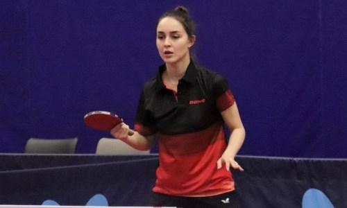 Казахстанский женский клуб по настольному теннису одержал две победы на старте чемпионата России