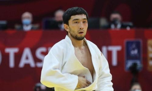 Казахстанский дзюдоист уступил в схватке за «бронзу» чемпионата Азии