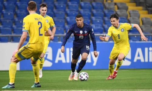 «Казахстан съел Мбаппе». В игре звезды сборной Франции произошла аномалия