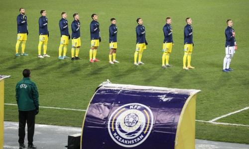 Сборная Казахстана узнала свое место в новом рейтинге ФИФА после матчей с Францией и Украиной