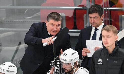 «Мы хотели играть в более активный хоккей». Тренер клуба конференции «Барыса» подвёл итог «пандемийного» сезона КХЛ