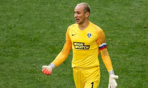 Экс-вратарь российской сборной отказал «Актобе» ради команды блогера в третьем дивизионе чемпионата России