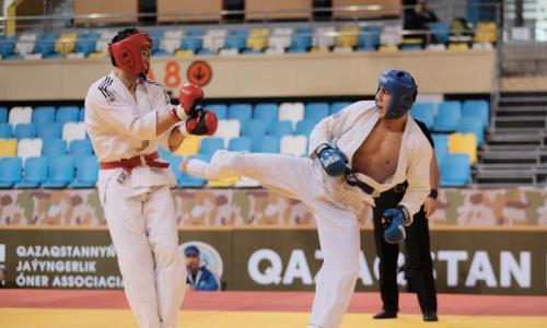 Определились победители чемпионата Казахстана по рукопашному бою