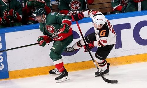 КХЛ отметила форварда сборной Казахстана и включила его в ТОП-3 лучших хоккеистов полуфинала Кубка Гагарина