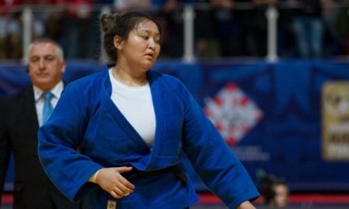 Казахстанская дзюдоистка заняла пятое место на чемпионате Азии в Бишкеке