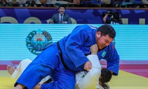 Казахстанский борец на чемпионате Азии по дзюдо уступил в схватке за бронзовую медаль