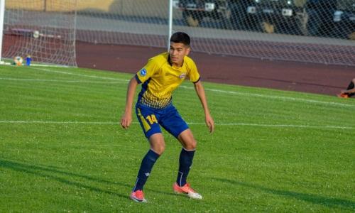 Молодой казахстанский защитник отправился в «Окжетпес»