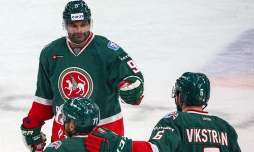 Клуб форварда сборной Казахстана сравнял счет в полуфинальной серии плей-офф КХЛ
