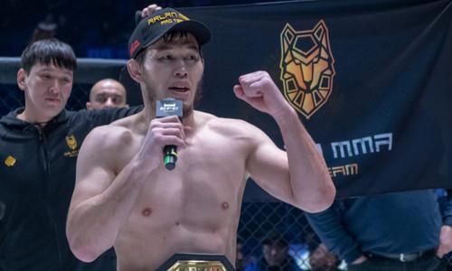 «Я готов». Казахстанский файтер сделал выводы и приготовился к реваншу с Минеевым