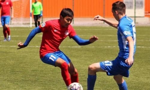 «Аксу» и «Тараз-Каратау» не выявили победителя в матче Первой лиги