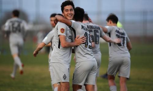 Фарм-клуб «Кайрата» стартовал в Первой лиге с разноса со счетом 3:0