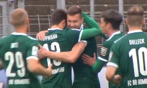 Экс-игрок молодежной сборной Казахстана забил гол и помог немецкому клубу выиграть матч. Видео