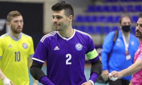 Игита сыграл юбилейный матч за сборную Казахстана