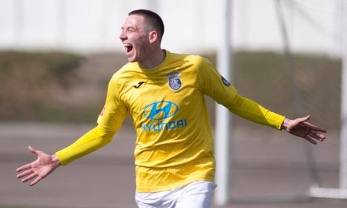 Видео голов, или Как казахстанский форвард сделал дубль за восемь минут в матче за европейскую команду