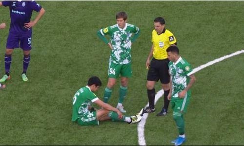 «Для меня было странным». Наставник «Ахмата» объяснил, как травма футболиста сборной Казахстана повлияла на матч с «Уфой».