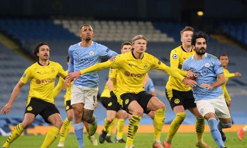 Прямая трансляция матча 1/4 финала Лиги Чемпионов «Боруссия» Дортмунд — «Манчестер Сити»