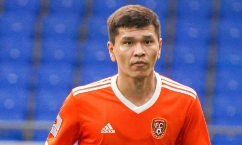 Айдос Таттыбаев забил юбилейный мяч в Премьер-Лиге