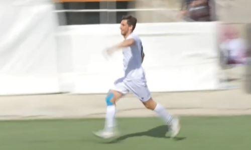 Видео гола Мингазова матча Премьер-Лиги «Каспий» — «Кайрат»