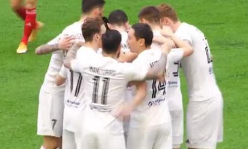 Видео гола Сильвы матча Премьер-Лиги «Тобол» — «Кайсар»